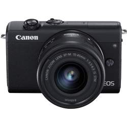 Mirrorless cameras - Canon EOS M200 + EF-M 15-45mm IS STM, black 3699C010 - quick order from manufacturer