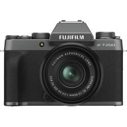 Bezspoguļa kameras - Fujifilm X-T200 + 15-45mm Kit, tumši sudrabots 16645955 - ātri pasūtīt no ražotāja