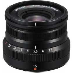 Lenses - Fujifilm XF 16mm f/2.8 R WR lens, black 16611667 - buy today in store and with delivery