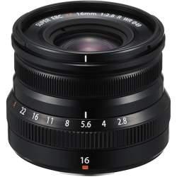 Objektīvi - Fujifilm XF 16mm f/2.8 R WR objektīvs, melns 16611667 - perc šodien veikalā un ar piegādi