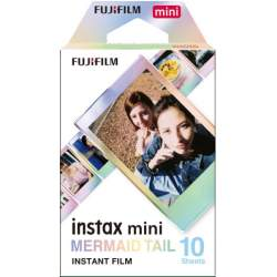 Instantkameru filmiņas - FUJIFILM Colorfilm instax mini MERMAID TAIL (10PK) - perc šodien veikalā un ar piegādi