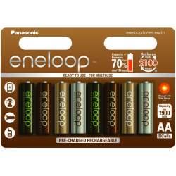 Objektīvi un aksesuāri - Panasonic ENELOOP BK-3MCCE/8UE Rechargeable batteries 1900 mAh, 2100 (8xAA)