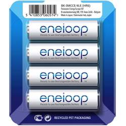 Panasonic ENELOOP BK-3MCCE/4LE Rechargeablebatteries 1900 mAh, 2100 (4xAA)