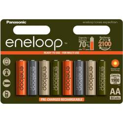 Panasonic Eneloop AA 1900mAh/2000mAh 1.2V NiMH akumulatori, lādējamās baterijas