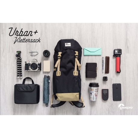 Backpacks - LOWEPRO URBAN+ KLETTERSACK MICA LP37078-PWW - quick order from manufacturer