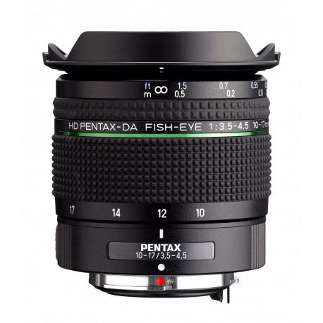 Lenses - RICOH/PENTAX PENTAX HD DA FISH-EYE 10-17MM F/3,5-4,5 ED 23130 - quick order from manufacturer