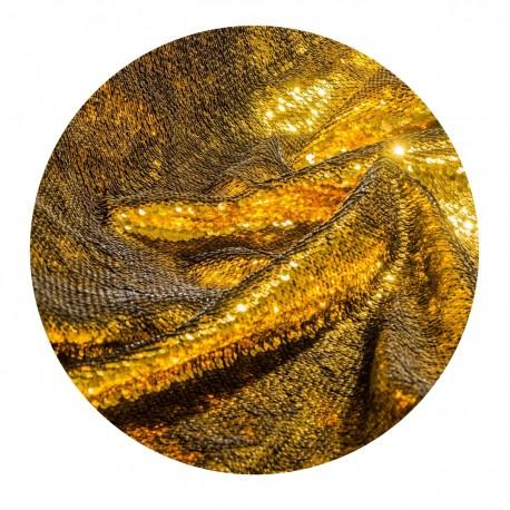 Foni un turētāji - Walimex pro sequin background 2,6x2,4m gold noma