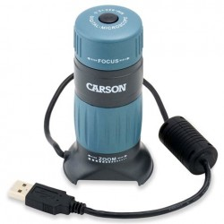 Mikroskopi - Carson Digital USB Microscope 86-457x with Recorder - ātri pasūtīt no ražotāja