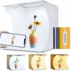 Puluz Folding Portable Ring Light Photo Lighting Studio 30cm PU5030