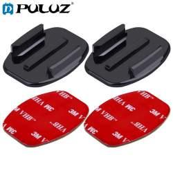 Крепления для экшн-камер - Puluz sticker set 3M for Osmo Action and GoPro 2+2 (flat+curved) - купить сегодня в магазине и с доставкой