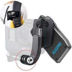 Strap mount 360° RUIGPRO for Action cameras
