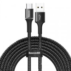 Halo data cable USB for type-C 2A 3m black