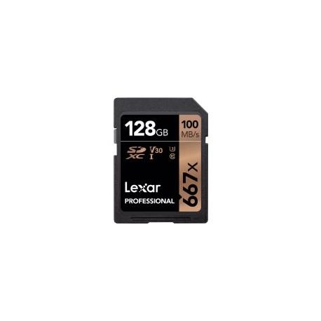 Atmiņas kartes - LEXAR PROFESSIONAL 667X SDHC/SDXC 128GB - perc šodien veikalā un ar piegādi
