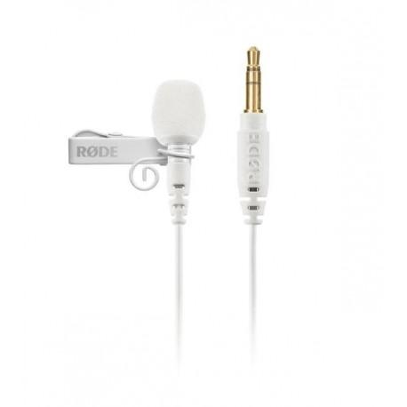 Микрофоны - Rode microphone Lavalier GO, white - купить сегодня в магазине и с доставкой