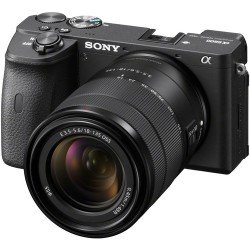 Foto un videotehnika - Sony Alpha a6600 Mirrorless 18-105mm F4 Power Zoom Lens noma