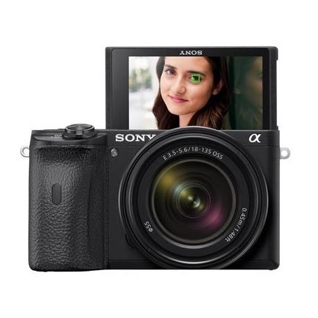 Foto un videotehnika - Sony Alpha a6600 Mirrorless 18-105mm F4 Power Zoom Lens noma
