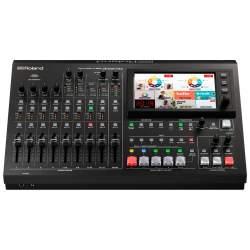 Audio Video mikseri - Roland VR-50HD MK II Multi-Format AV Live Streaming Mixer - ātri pasūtīt no ražotāja