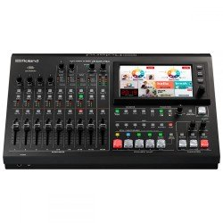 Video mixer - Roland VR-50HD MK II Multi-Format AV Live Streaming Mixer - quick order from manufacturer