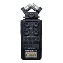 Mikrofoni - ZOOM H6 Black 2020 Version - perc šodien veikalā un ar piegādi