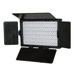 On-camera LED light - Falcon Eyes Bi-Color LED Lamp Set Dimmable DV-216VC-K2 incl. Battery - quick order from manufacturer