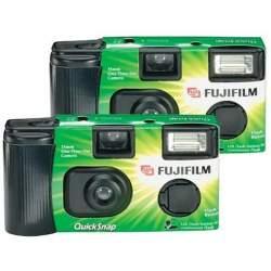 Filmu kameras - Fujifilm Quicksnap x2 double pack 400 X-TRA Flash 400/135/27 - perc šodien veikalā un ar piegādi