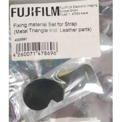 Siksniņas un turētāji - Fixing material for Strap (Metal Triangle incl. Leather parts) - perc šodien veikalā un ar piegādi