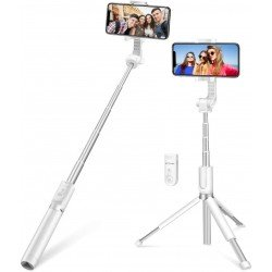Selfie Stick tripod 3in1 BlitzWolf BW-BS4 white