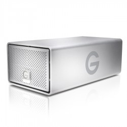 Hard drives & SSD - G-TECHNOLOGIES G-RAID USB G1 Removable HDD 8TB Silver - quick order from manufacturer