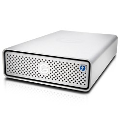 Hard drives & SSD - G-TECHNOLOGIES G-DRIVE Thunderbolt 3 HDD 8TB Silver - quick order from manufacturer