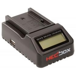 Kameras bateriju lādētāji - HEDBOX RP-DC40 - ātri pasūtīt no ražotāja