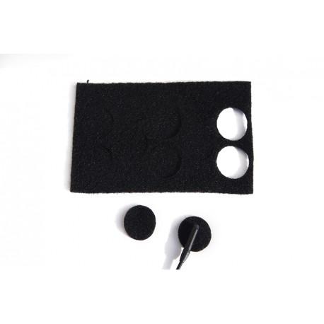 Аксессуары для микрофонов - RYCOTE Black Undercovers - pack of 30 uses - купить сегодня в магазине и с доставкой
