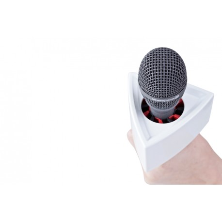 Accessories for microphones - RYCOTE Single Triangular White Mic Flag - quick order from manufacturer