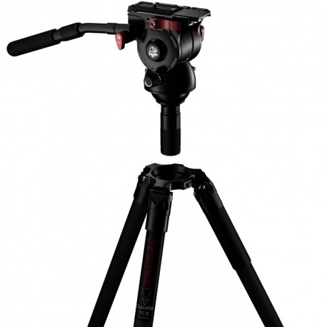 Video tripods - iFootage Gazelle Tripod TC9-Fastbowl with Komodo K7 Fluid Head Bundle - quick order from manufacturer