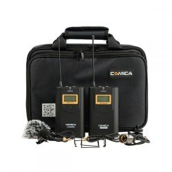Mikrofoni - Ikan Wireless Microphone System & One Receiver (CoMica CVM-WM100) - ātri pasūtīt no ražotāja
