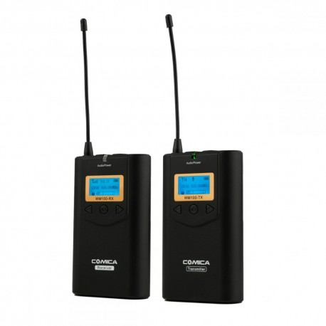 Microphones - Ikan Wireless Microphone System & One Receiver (CoMica CVM-WM100) - quick order from manufacturer