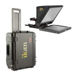 Teleprompteri - Ikan PT1200 12inch Travel Kit with Rolling Hard Case (PT1200-TK) - ātri pasūtīt no ražotāja