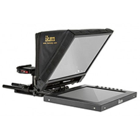 Teleprompter - Ikan PT1200 12inch Travel Kit with Rolling Hard Case (PT1200-TK) - quick order from manufacturer