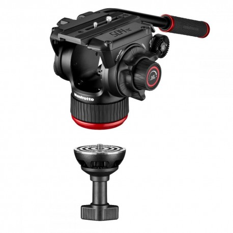 Video Tripods - Manfrotto 504X Fluid Video Head with Alu Twin leg tripod MS (MVK504XTWINMA) - buy today in store and with delivery