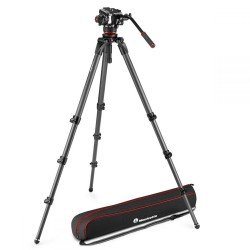Monopodi - Manfrotto 504X Fluid Video Head with 536 CF Single leg tripod (MVK504XCTALL) - ātri pasūtīt no ražotāja