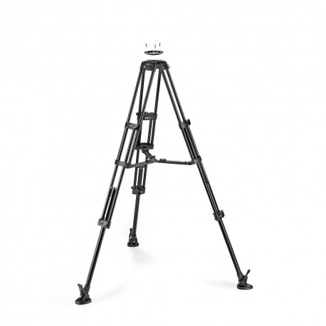 Video Tripods - Manfrotto Alu Twin MS Tripod 100/75mm (MVTTWINMA) - quick order from manufacturer