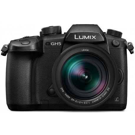 Mirrorless Cameras - Panasonic Premium Panasonic LUMIX G DC-GH5LEG-K w/ LEICA 12-60mm lens - quick order from manufacturer