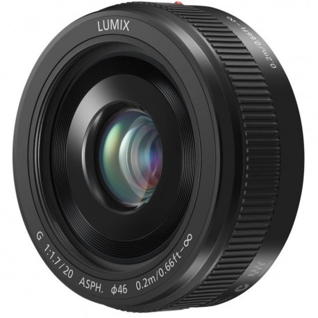Lenses - Panasonic Premium Panasonic Lumix G F1.7/20mm II (40mm KB) lens (H-H020AE-K) - quick order from manufacturer