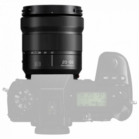 Lenses - Panasonic Pro Panasonic LUMIX S Ultra wide angle zoom 20-60mm / F3.5-5.6 (S-R206 - quick order from manufacturer