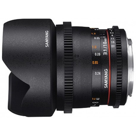 Lenses - Samyang 10mm T3.1 VDSLR ED AS NCS with Sony E-Mount - quick order from manufacturer