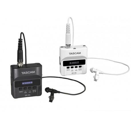 Jaunas preces - Tascam DR-10LW Digital Audio Recorder White - ātri pasūtīt no ražotāja