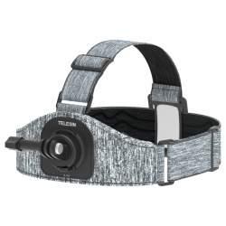 Stiprinājumi action kamerām - TELESIN Osmo Action Head Strap - perc šodien veikalā un ar piegādi
