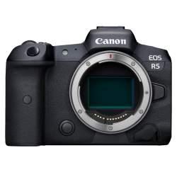 Bezspoguļa kameras - Canon EOS R5 Body - perc šodien veikalā un ar piegādi
