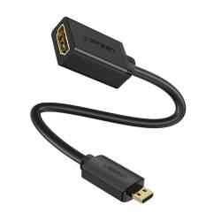 UGREEN 20134 Adapter Micro HDMI to HDMI, 22cm (black)