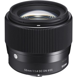 Lenses and Accessories - Sigma 56mm f/1.4 DC DN lens for Sony E-Mount rent