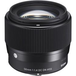 Objektīvi un aksesuāri - Sigma AF 56MM F/1.4 DC DN Sony E-mount noma